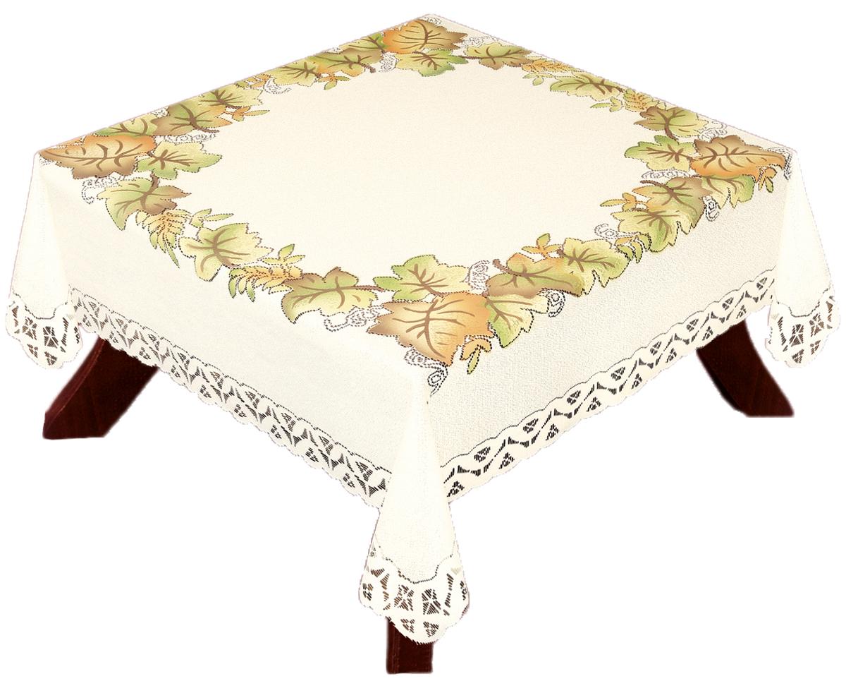 Скатерть Haft, квадратная, 140 х 140 см115510Скатерть выполнена в европейском стиле, жаккардовое плетение.