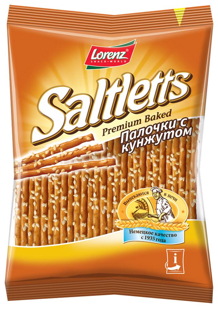 Lorenz Saltletts палочки с кунжутом, 60 гбзе023Палочки Lorenz Saltletts, обсыпанные обжаренным кунжутом, - это интересная альтернатива традиционной соленой соломке. Они послужат дополнительным источником энергии в течение дня, а также отличным хрустящим перекусом в любое время!
