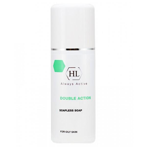 Holy Land Ихтиоловое мыло Double Action Soapless Soap, 250 мл104033Антисептическое жидкое мыло для жирной и себорейной кожи.Действие:Эффективно очищает кожу, удаляет избыток кожного жира, не защелачивая кожу.Дезинфицирует и успокаивает кожу, устраняет зуд.Осветляет и рассасывает инфильтраты и застойные пятна, выравнивает цвет лица.Действует противовоспалительно и антисептически.Препарат эффективен при себорейном дерматите кожи волосистой части головы.Активные компоненты: Ихтиол продукт перегонки смолистых горных пород; в медицине давно применяется при лечении различных кожных болезней, ожогов, ран. Обладает противовоспалительным, антисептическим, местно-обезболивающим и рассасывающим действием. Ускоряет созревание пустул, рассасывание застойных пятен и глубоких инфильтратов.Перуанский бальзам смола, получаемая из коры бальзамного дерева, произрастающего в тропиках Центральной Америки. Обладает противомикробными, антипаразитарными и дезодорирующими свойствами.