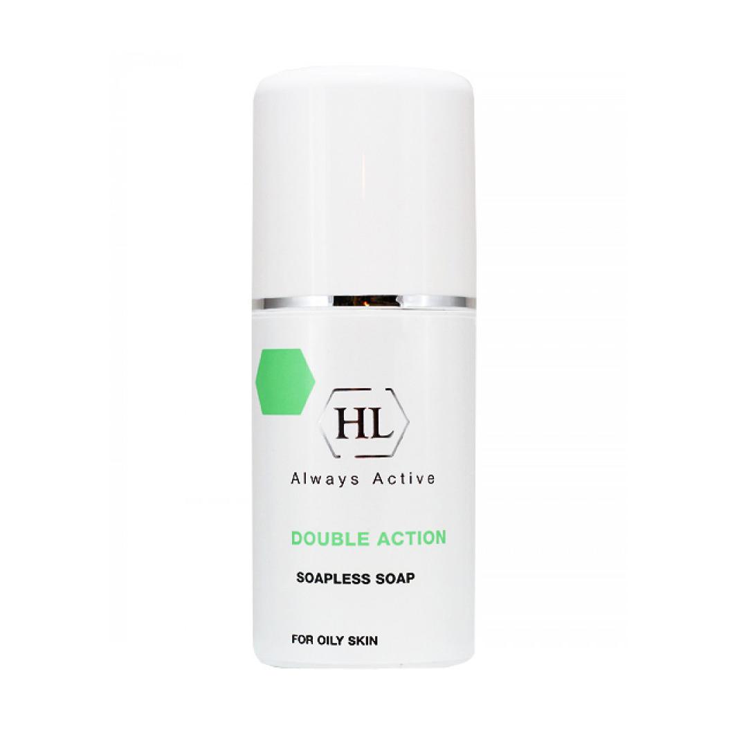 Holy Land Ихтиоловое мыло Double Action Soapless Soap, 125 мл104034Антисептическое жидкое мыло для жирной и себорейной кожи.Действие:Эффективно очищает кожу, удаляет избыток кожного жира, не защелачивая кожу.Дезинфицирует и успокаивает кожу, устраняет зуд.Осветляет и рассасывает инфильтраты и застойные пятна, выравнивает цвет лица.Действует противовоспалительно и антисептически.Препарат эффективен при себорейном дерматите кожи волосистой части головы.Активные компоненты: Ихтиол продукт перегонки смолистых горных пород; в медицине давно применяется при лечении различных кожных болезней, ожогов, ран. Обладает противовоспалительным, антисептическим, местно-обезболивающим и рассасывающим действием. Ускоряет созревание пустул, рассасывание застойных пятен и глубоких инфильтратов.Перуанский бальзам смола, получаемая из коры бальзамного дерева, произрастающего в тропиках Центральной Америки. Обладает противомикробными, антипаразитарными и дезодорирующими свойствами.