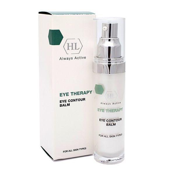 Holy Land Бальзам для век Eye Therapy Eye Contour Balm, 30 млFS-36054Специальный гипоаллергенный препарат для ухода за кожей век и губ.Действие:Смягчает и выравнивает кожу вокруг глаз.Уменьшает и предотвращает раздражение.Тонизирует кожу, уменьшает признаки усталости.Нормализует кровообращение, уменьшает отечность.Уменьшает выраженность морщин вокруг глаз, устраняет сухость и шелушение.Активные компоненты: экстракт зеленого чая, экстракт арники, экстракт календулы, экстракт дикой розы, лактат натрия, сорбитол, глицерин, молочная кислота, серин, мочевина, глицин, глюкоза, аллантоин, соевое масло, ретинил пальмитат, сафлоровое масло, линолевая кислота, токоферол, масло календулы, экстракт женьшеня, экстракт облепихи, гидролизованные пшеничные протеины, гиалуроновая кислота.