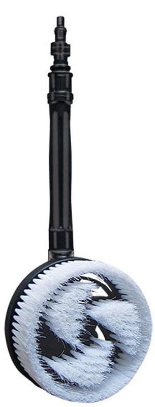 Щетка роторная для моек высокого давления Zipower1.630-720.0Роторная щетка Zipower для работы с мойками высокого давления легко очищает от пыли и грязи кузов автомобиля и любые другие гладкие поверхности. Эффективна для очистки особо загрязненных участков. Щетка обладает мягкой щетиной, благодаря чему бережно и эффективно удаляет загрязнения без вреда для лакокрасочного покрытия.Диаметр рабочей части: 13,5 см.Длина щетки: 47 см.