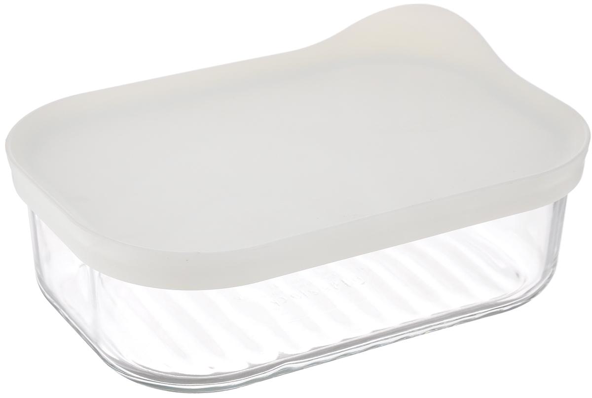 Контейнер Glasslock, прямоугольный, цвет: прозрачный, белый, 480 мл4630003364517Контейнер для хранения Glasslock изготовлен из высококачественного закаленного ударопрочного стекла. Герметичная пластиковая крышка надолго сохраняет свежесть продуктов. Подходит для мытья в посудомоечной машине, хранения в холодильных и морозильных камерах, использования в микроволновых печах.Стеклянная посуда нового поколения от Glasslock экологична, не содержит токсичных и ядовитых материалов; превосходная герметичность позволяет сохранять свежесть продуктов; покрытие не впитывает запах продуктов; имеет утонченный европейский дизайн - прекрасное украшение стола.Размер контейнера по верхнему краю: 15,5 х 10,5 см.Высота контейнера (с учетом крышки): 6 см.