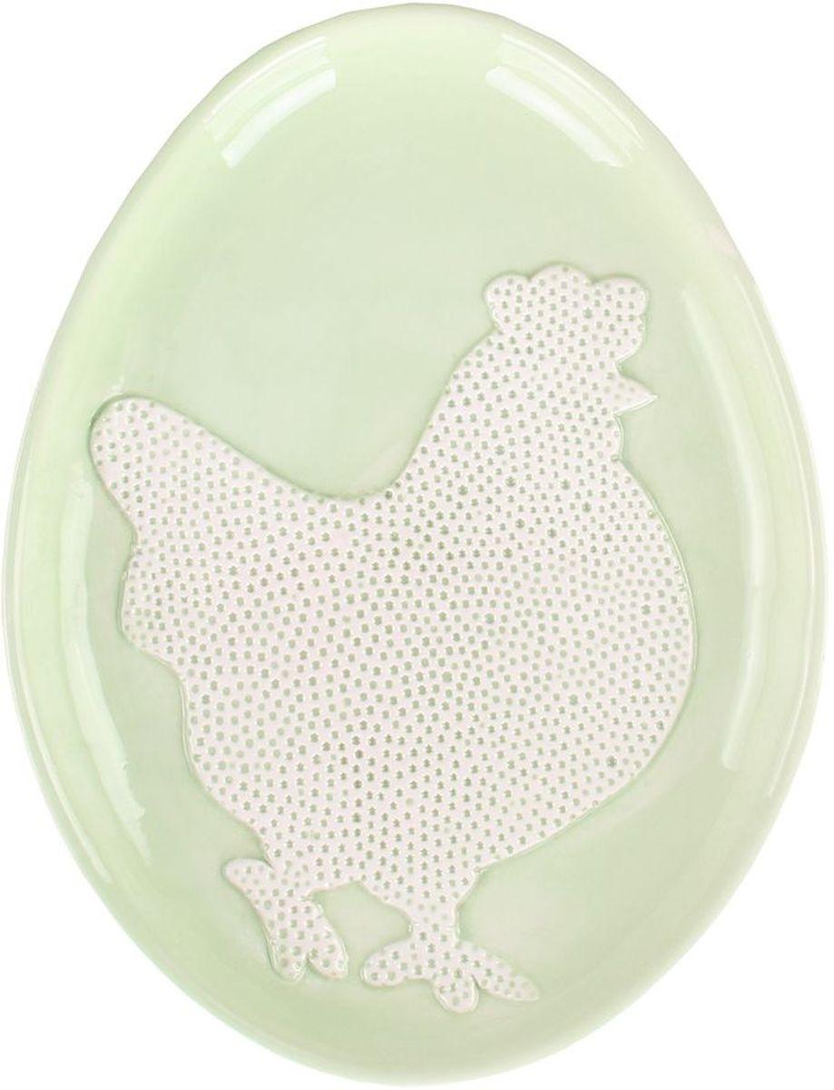 Блюдо Patricia Курочка, 25 х 19 х 3 см115510Овальное блюдо Patricia Курочка выполнено из высококачественной керамики. В светлый праздник Пасхи оно станет украшением вашего стола.