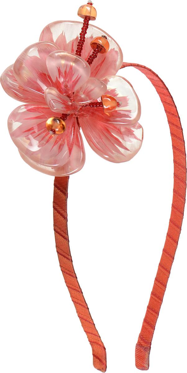 Ободок для волос Lalo Treasures, цвет: розовый, оранжевый. HR4540 колье lalo treasures цвет мульти p4467 2