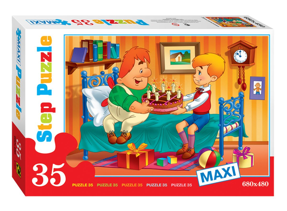 Step Puzzle Пазл для малышей День рождения step puzzle пазл для малышей fisher price 91224