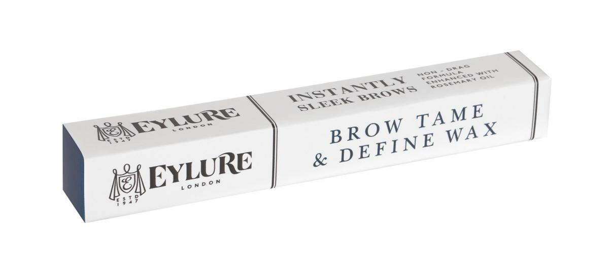 Eylure Воск для фиксации бровей Tame & Define Wax 1,46 гр232544Стойкий и эффективный воск для бровей в виде карандаша кондиционирует, укрепляет брови и помогает улучшать здоровый рост. Содержит масло розмарина, растительный воск и масло сладкого миндаля, а также активный комплекс RepHair для укрепления структуры бровей.