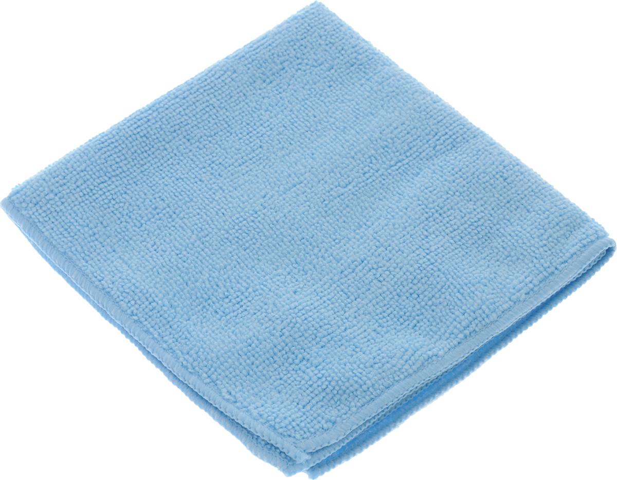 Салфетка для уборки Sol из микрофибры, цвет: голубой, 30 x 30 см109744Салфетка Soll выполнена из микрофибры. Микрофибра - это ткань из тонких микроволокон, которая эффективно очищает поверхности благодаря капиллярному эффекту между ними. Такая салфетка может использоваться как для сухой, так и для влажной уборки. Деликатно очищает любые поверхности не оставляя следов и разводов. Идеально подходит для протирки полированной мебели. Сохраняет свои свойства после стирки. Рекомендации по применению и уходу: Для обеспечения гигиеничности рекомендуется прополаскивать салфетку после каждого применения с моющим средством. Для сохранения мягкости не рекомендуется сушить вблизи отопительных приборов и на батареях. Нельзя стирать с отбеливающими средствами, кипятить и гладить.