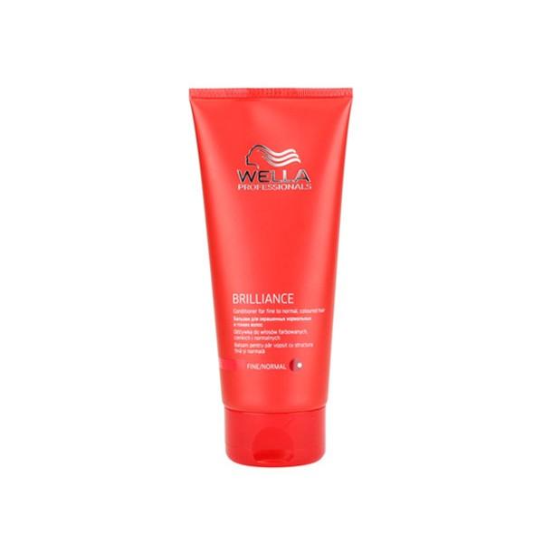 Wella Бальзам Brilliance Line для окрашенных нормальных и тонких волос, 200 млD1117902Для смягчения и увлажнения волос используйте Бальзам для окрашенных нормальных и тонких волос. Благодаря ухаживающей формуле, оказывается комплексное воздействие на волосы и кожу головы, активно поддерживается блеск и сияние цвета. Кроме того, используя средство для окрашенных волос, вы сделаете каждый волос более мягким и гладким, обеспечите антистатический эффект. Как результат, волосы становятся упругими и сильными, послушными, мягкими и шелковистыми. Теперь они надежно защищены от негативных внешних факторов. В составе имеются витамин E, катионоактивный полимер, бриллиантовая пыльца, глиоксиловая кислота, экстракт орхидеи, пантенол.