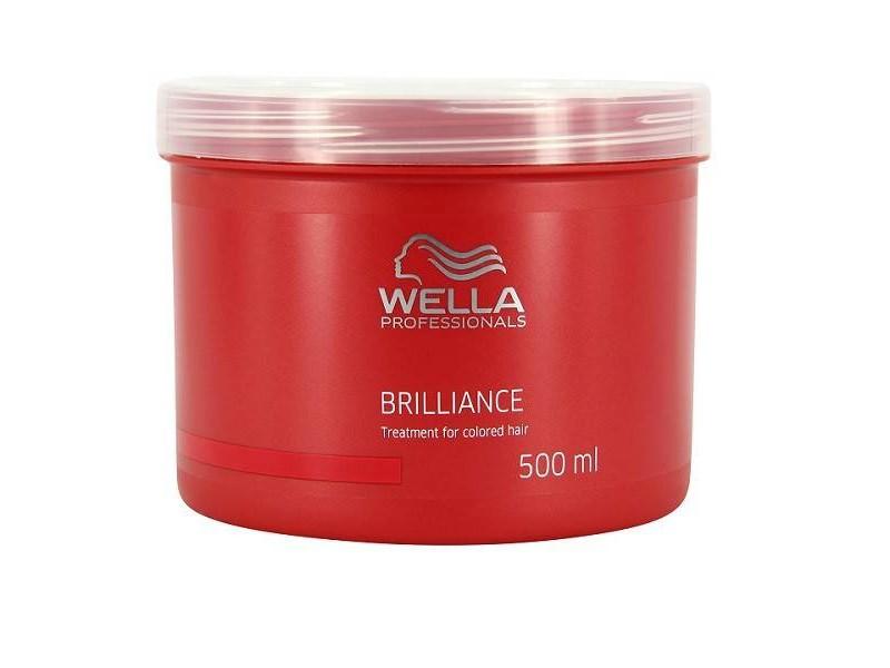 Wella Маска Brilliance Line для окрашенных нормальных и тонких волос, 500 млFS-00897Маска Wella для окрашенных нормальных и тонких волос имеет в своем составе уникальную бриллиантовую пыльцу, которая придаст вашим локонам естественное сияние и ухоженный внешний вид. Маска отлично защищает волосы от негативного воздействия окружающей среды, делает их более шелковистыми и мягкими, поддерживает естественный уровень рН и насыщает питательными веществами, а также стимулирует рост каждого волоска, успокаивает кожу головы.Как результат, ваши волосы станут более яркими, блестящими и послушными.