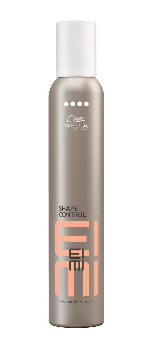 Wella Пена для укладки ультрасильной фиксации EIMI Shape Control, 300 млMP59.4DПена для укладки со степенью фиксации 4 гарантирует получение экстремального объема.
