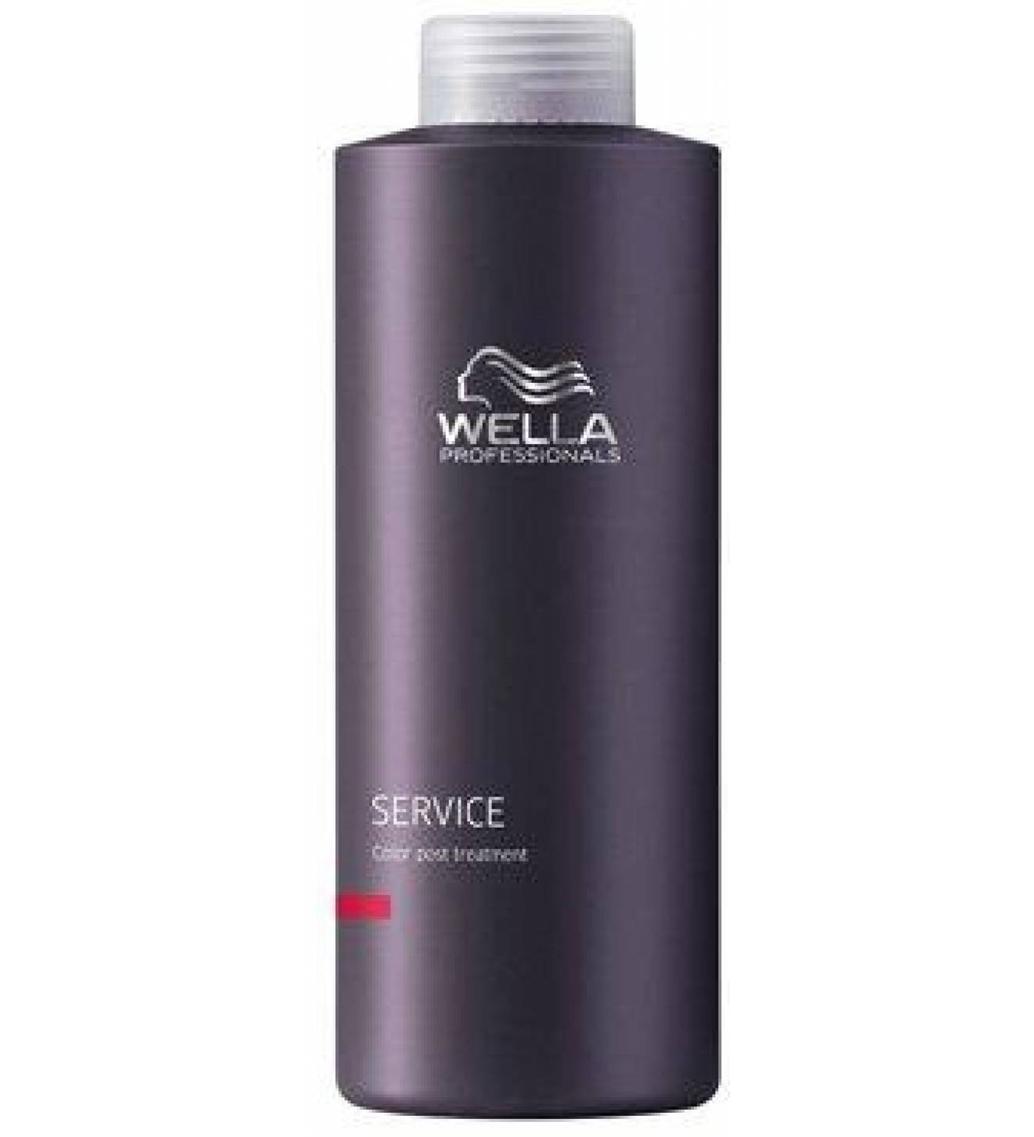 Wella Стабилизатор окраски Service Line, 1000 мл1917269/1794089/1658347Wella Service Line Стабилизатор окраски профессиональное ухаживающее средство для закрепления цвета волос после их окрашивания. Используется сразу после окрашивания волос, а также после каждой процедуры мытья, чтобы надолго сохранить интенсивность и яркость тона.Благодаря сбалансированному составу, обогащенному витаминами, минералами и другими питательными компонентами, стабилизатор окраски благоприятно влияет на структуру волос, восстанавливая поврежденные участки после окрашивания. Идеально подходит для всех типов волос.Регулярное использование Wella Service Line позволяет сохранить яркость цвета волос после процедуры их окрашивания в течение всего времени действия краски, а благодаря комплексу полезных веществ, входящим в состав стабилизатора локоны приобретают естественный блеск, упругость и эластичность.Стабилизатор Wella Service Line прекрасно сочетается с другими ухаживающими средствами за волосами.