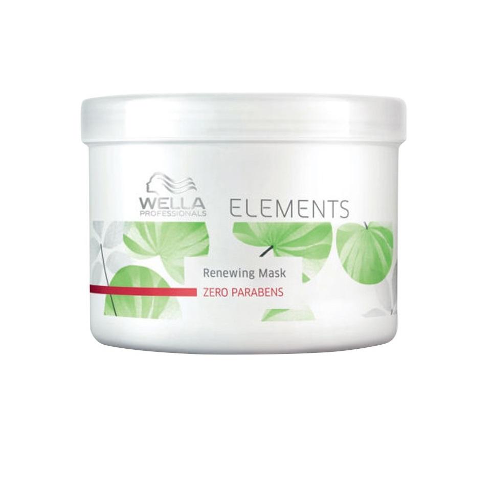 Wella Обновляющая маска Professionals Elements, 500 млMP59.4DНовая натуральная линия средств по уходу за волосами. В составе нет парабенов и сульфатов. Восстанавливает и укрепляет естественные силы волос, усиляет изнутри. Имеет мягкую приятную консистенцию, что упрощает нанесение и распределение средства по поверхности волос. Обладает легким и приятным ароматом зеленого базилика, кедра, мускуса, водяной лилии. Защищает кератин волос от повреждений.