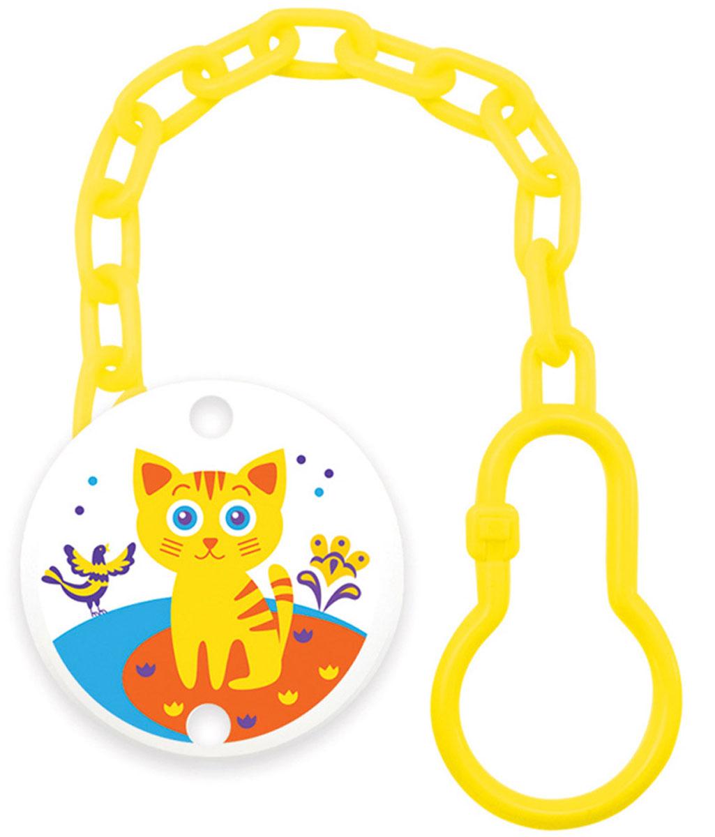Lubby Клипса-держатель для пустышки Русские мотивы Кошка -  Все для детского кормления