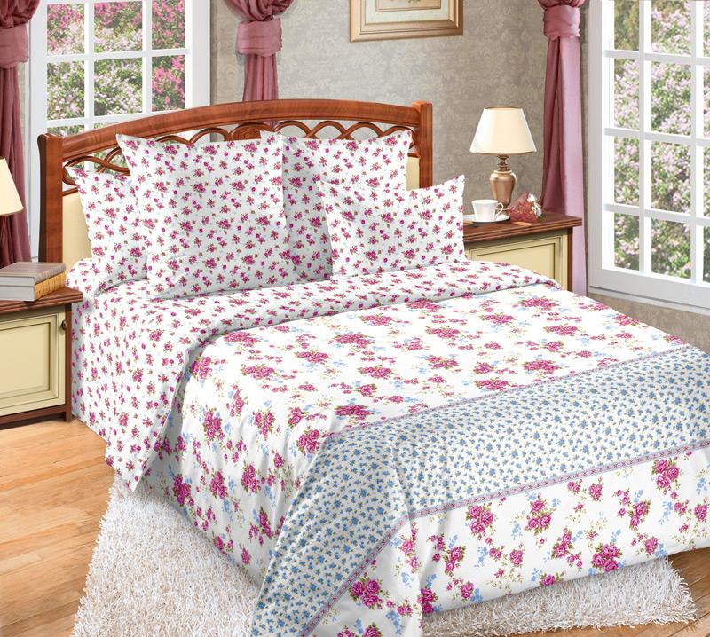Комплект белья Белиссимо Мирабель 1, 2-спальный, наволочки 70х70391602Великолепное постельное белье Белиссимо Мирабель 1 выполнено из высококачественной бязи (100% хлопок) и оформлено нежным рисунком. Комплект состоит из пододеяльника, простыни и двух наволочек. Бязь - хлопчатобумажная плотная ткань полотняного переплетения. Отличается прочностью и стойкостью к многочисленным стиркам. Бязь считается одной из наиболее подходящих тканей, для производства постельного белья и пользуется в России большим спросом.