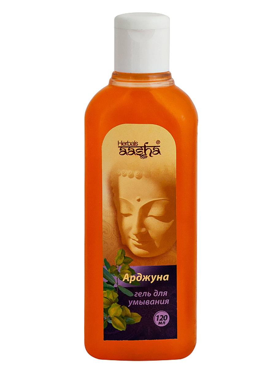 Aasha Herbals Гель для умывания Арджуна, 120 млFS-00897Эффективно очищает и тонизирует кожу лица, удаляет грязь и излишнюю сальность, устраняет воспаления. Смягчает, увлажняет, успокаивает и освежает кожу лица. Рекомендуется для жирной кожи.