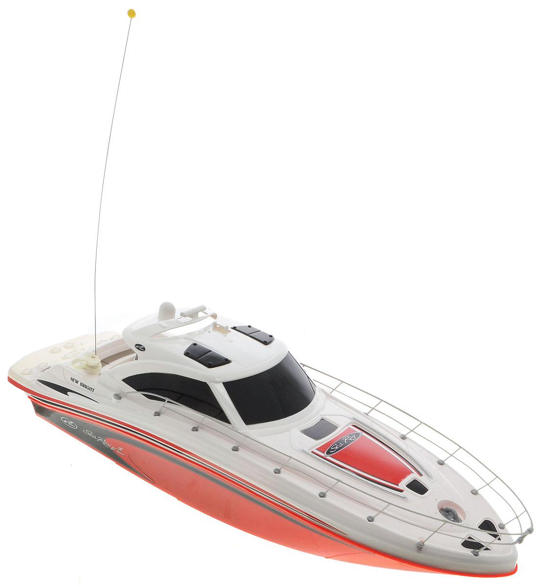 New Bright Катер на радиоуправлении Sea Ray цвет белый красный