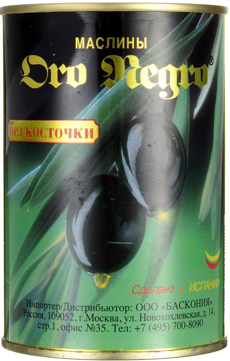 Oro Negro маслины без косточки, 480 г0120710Oro Negro - превосходные черные маслиныбез косточки прямо из солнечной Испании. В этих полезных плодах содержатся множество витаминов, кислот и элементов, необходимых для организма человека.