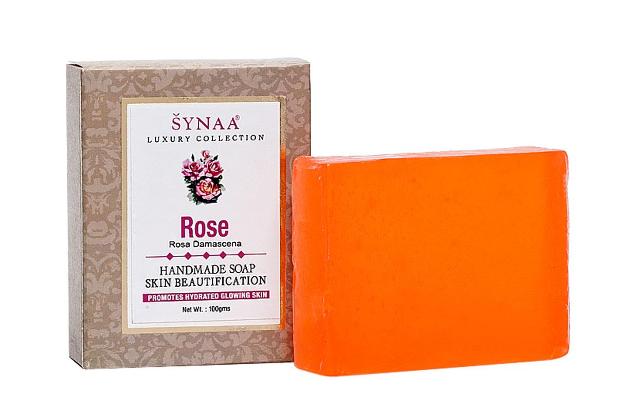 Synaa мыло ручной работы Роза, 100 гSatin Hair 7 BR730MNМыло ручной работы, обогащенное экстрактом розы, витамином Е и кокосовым маслом. Эффективно очищает кожу от излишков кожного сала и грязи, обеспечивает антисептическую защиту, успокаивает раздраженную кожу, снимает покраснения. Тонизирует и освежает кожу, делает ее гладкой и бархатистой