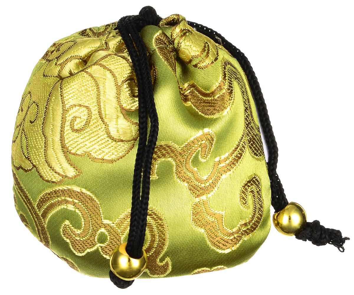 Masura Шелковый мешочек Ацуи для горячего и холодного массажа, цвет: светло-оливковый78200Шелковый мешочек Masura Ацуи применяется для холодного и горячего массажа рук и ароматерапии при проведении процедуры Японский маникюр. Изделие, оформленное оригинальной вышивкой, затягивается на кулиску с декоративными бусинами. Наполнен мешочек морской солью, сухоцветами и аромамаслами.Материал мешочка:текстиль, пластик.Размер наполненного мешочка: 6,5 см х 6,5 см х 5 см.Товар сертифицирован.