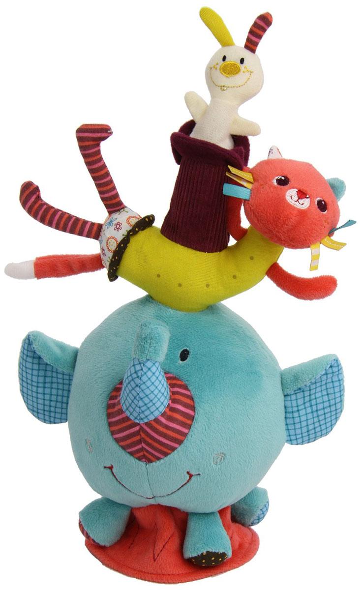 Lilliputiens Развивающая игрушка Слоненок Альберт lilliputiens игрушка собачка джеф