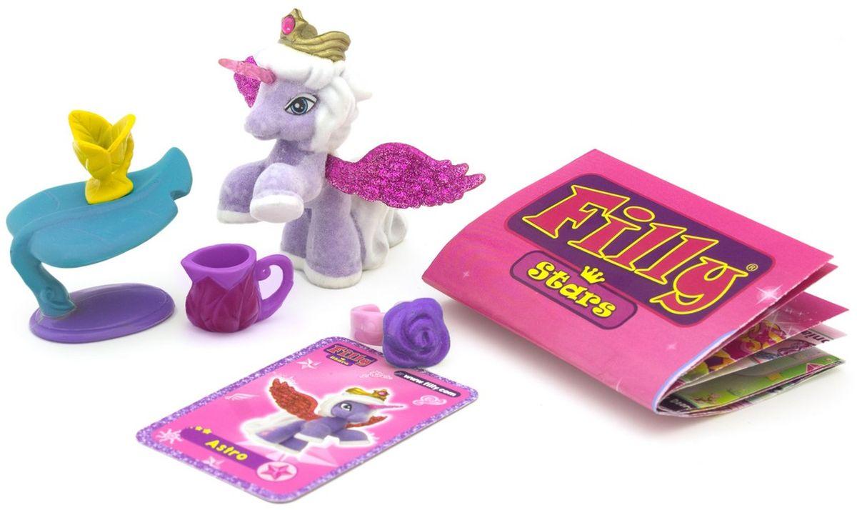 Filly Dracco Игровой набор Лошадка Astro Звезды 5 предметов dracco игровой набор лошадки filly звезды волшебная семья мини версия astro и hypnia