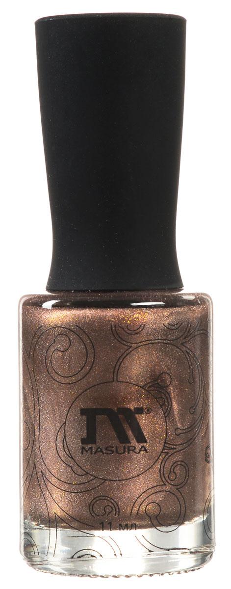 Masura Masura, Лак для ногтей Драгоценные камни Муар-Антик, 11 млPMF3000Серия Masura Драгоценные камни - новая коллекция для создания необычного маникюра. Эффекты камней на ваших ногтях - хит моды этого сезона. Оттенок Муар-Антик - это плотный медно-коричневый, с золотым и голографическим мерцанием лак-эффект.
