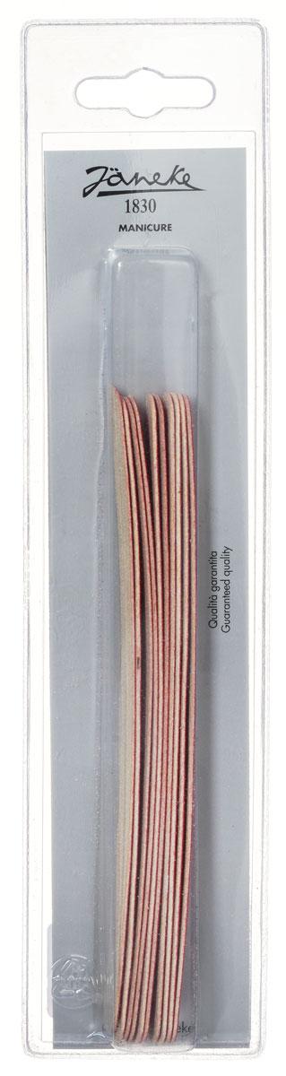 Janeke Пилка для ногтей, 12 штук. MP1082995Маникюрная пилка для ногтей от Janeke с абразивным покрытием, для придания формы и выравнивания ногтей. Высококачественное покрытие пилки обеспечивает идеальную обработку ногтя и долгий срок службы. В упаковке 12 штук. Товар сертифицирован.
