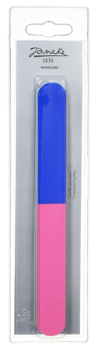 Janeke Пилка для ногтей, цвет: синий, розовый, 2 шт. MP134FA-8116-1 White/pinkМаникюрная пилка для ногтей от Janeke изготовлена из стали Solingen, для придания формы и выравнивания ногтей. Высококачественное покрытие пилки обеспечивает идеальную обработку ногтя и долгий срок службы.Товар сертифицирован.