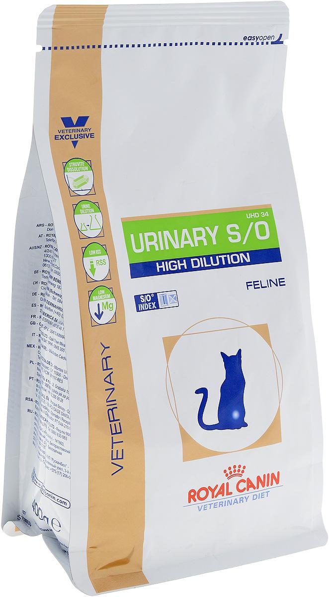 Корм сухой диетический Royal Canin Urinari Hich Dilution UHD34 для кошек, при лечении мочекаменной болезни, 400 г22264Диета для кошек при лечении мочекаменной болезни (быстрое растворение струвитов)Показания:Растворение струвитовПрофилактика рецидивов уролитиаза, вызываемого струвитами и оксалатами кальция (рацион животного должен быть ограничен специальной диетой)Примечание: При повторяющемся идиопатическом цистите рекомендуется влажный диетический рацион. Перед назначением пожилым животным Urinary S/O Feline необходимо убедиться в нормальном функционировании их почек.Противопоказания:Беременность, лактация, ростХроническая почечная недостаточностьМетаболический ацидозСердечная недостаточностьГипертонияПрименение лекарственных препаратов, которые используются для подкисления мочиСухой корм Royal Canin Urinari Hich Dilution UHD34 - полноценный диетический рацион для кошек, рекомендуемый при воспалении нижних отделов мочевыводящих путей. Корм способствует быстрому растворению струвитов и снижает риск их повторного образования.Противопоказания:- беременность, лактация, рост;- хроническая почечная недостаточность;- метаболический ацидоз;- сердечная недостаточность;- гипертония;- применение лекарственных препаратов, которые используются для подкисления мочи.Состав: рис, пшеничная клейковина, дегидратированное мясо птицы, кукурузная мука, животные жиры, кукурузная клейковина, минеральные вещества, растительная клетчатка, гидролизат животных белков, рыбий жир, соевое масло, фруктоолигосахариды (ФОС), яичный порошок, гидролизат панциря ракообразных (источник глюкозамина), экстракт бархатцев прямостоячих (источник лютеина).Добавки (на 1 кг) питательные добавки: витамин А: 22200 МЕ, витамин D3: 500 МЕ, железо: 45 мг, йод: 3 мг, марганец: 59 мг, цинк: 192 мг.Консервант: сорбат калия. Антиокислители: пропилгаллат, БГА.Содержание питательных веществ: белки 34,5%, жиры 15%, минеральные вещества 9,4%, клетчатка пищевая 2,8%, кальций 0,9%, фосфор 0,9%, натрий 1,3%, хлориды 2,38%, 