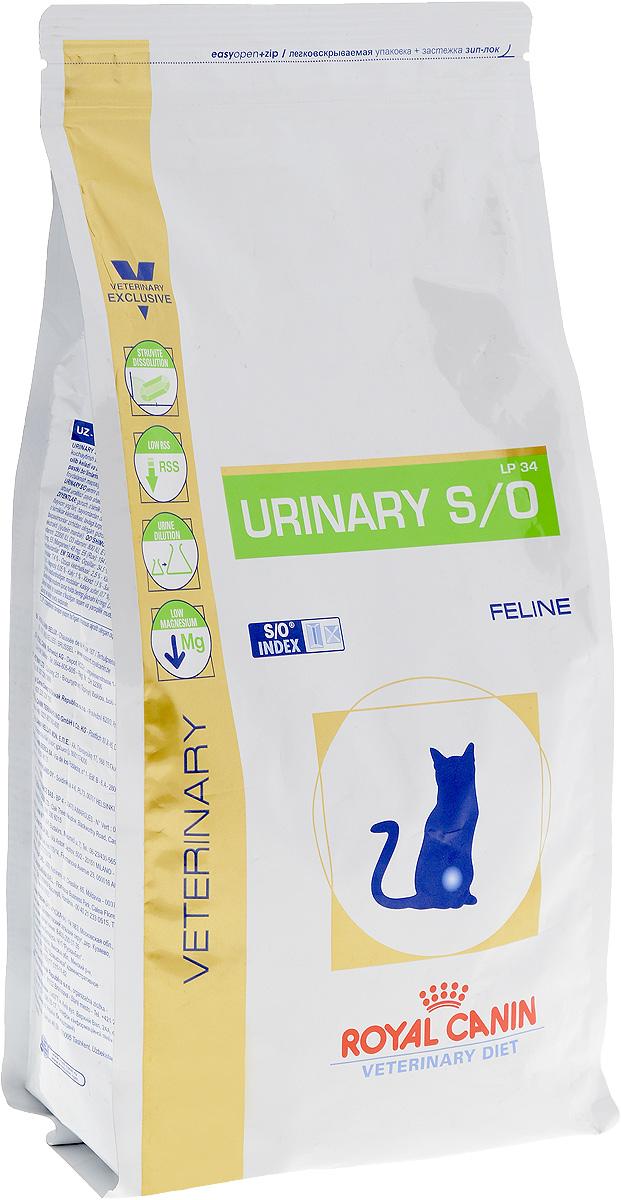 Корм сухой диетичесий Royal Canin Urinary S/O LP34 для кошек, при заболеваниях мочекаменной болезнью, 1,5 кг0120710Royal Canin Urinary S/O LP34 - полноценный диетический рацион для кошек, рекомендуемый при лечении и профилактике мочекаменной болезни.Корм способствует быстрому растворению струвитов и снижает риск их повторного образования.Диета для кошек при лечении и профилактике мочекаменной болезни.Показания: - растворение струвитов;- профилактика рецидивов уролитиаза, вызываемого струвитами и оксалатами кальция.Противопоказания: - беременность, лактация, рост;- хроническая почечная недостаточность;- метаболический ацидоз;- сердечная недостаточность;- гипертония;- применение лекарственных препаратов, которые используются для подкисления мочи. Состав: дегидратированные белки животного происхождения (птица), рис, злаки, изолят растительных белков, растительная клетчатка, гидролизат белков животного происхождения, минеральные вещества, свекольный жом, рыбий жир, дрожжи, соевое масло, фруктоолигосахариды, животные жиры, фруктоолигосахариды, гидролизат из панциря ракообразных, экстракт бархатцев прямостоячих (источник лютеина).Добавки (на 1 кг): витамин А: 21500 МЕ, витамин D3: 800 МЕ, железо: 41 мг, йод: 4,1 мг, марганец: 53 мг, цинк: 159 мг, селен: 0,07 мг.Товар сертифицирован.