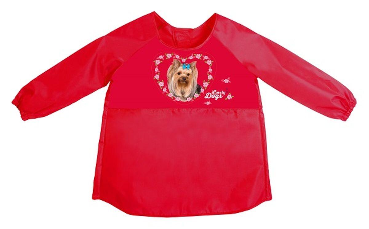 Hatber Фартук-накидка с рукавами для труда Hatber Love Dogs72523WDНовинка сезона! Фартук - накидка с рукавами! Водоотталкивающая ткань надёжно защитит одежду ребёнка от возможных загрязнений. Удобная застёжка на липучке, вентилируемая спина, рукава на резиночке. Лёгок и прост в применении.