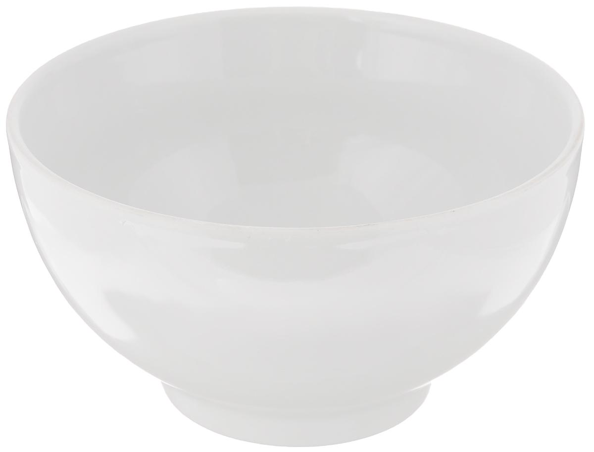 Пиала Белье, 500 мл115510Пиала Белье изготовлена из высококачественного фарфора. Изделие прекрасно подойдет для подачи салата или мороженого. Благодаря изысканному дизайну, такая пиала станет бесспорным украшением вашего стола. Она дополнит коллекцию кухонной посуды и будет служить долгие годы. Диаметр пиалы по верхнему краю: 13 см. Диаметр основания: 6 см.Высота пиалы: 7,3 см.