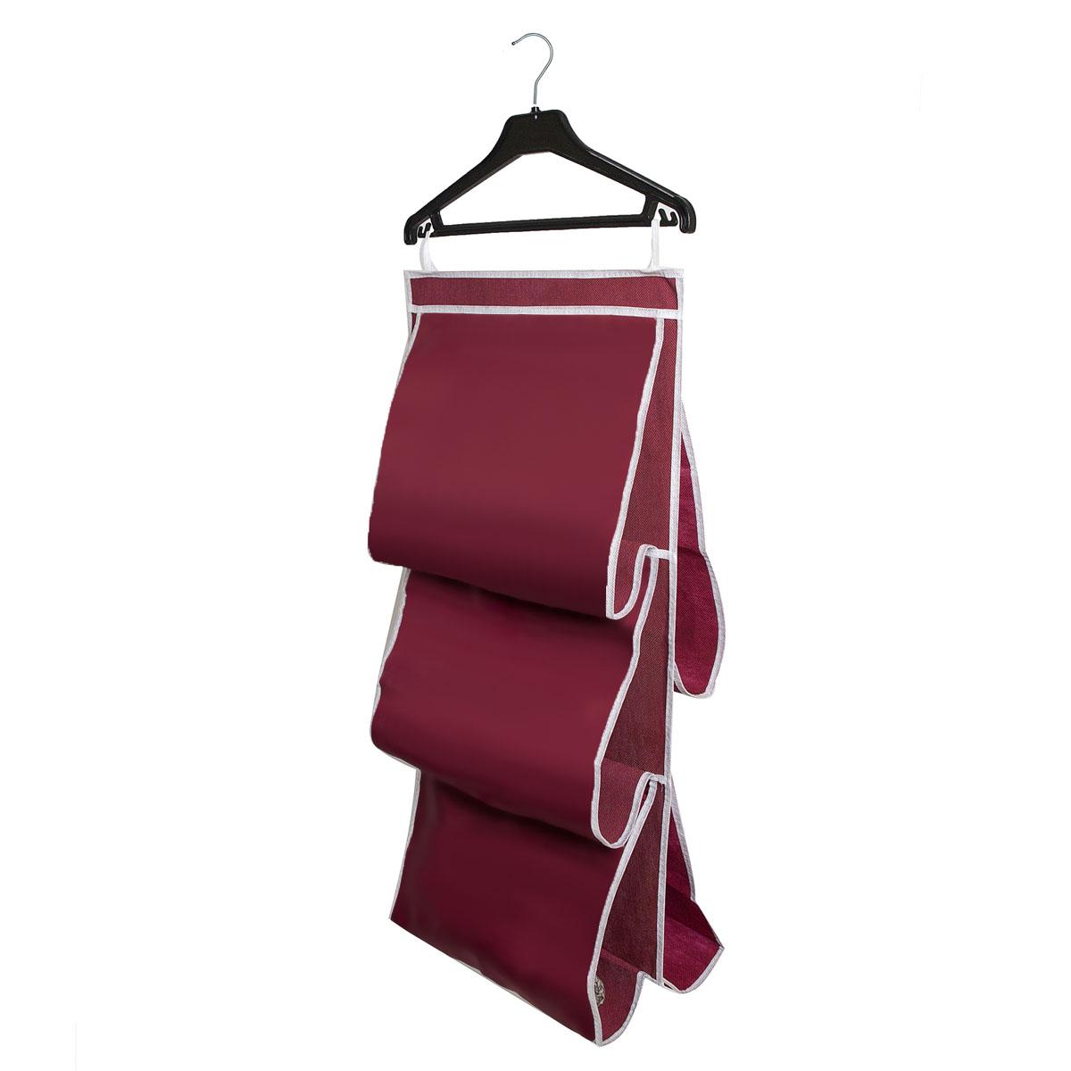 Органайзер для сумок Homsu Red Rose, 5 отделений, 40 х 70 см12723Органайзер для хранения сумок Homsu Red Rose изготовлен из полиэстера. Изделие имеет 5 отделений, его можно повесить в удобное место за крючки. Такой компактный и удобный в каждодневном использовании аксессуар, как этот органайзер, размещающийся в пространстве шкафа, на плоскости стены или дверей.Практичный и удобный органайзер для хранения сумок.Размер чехла: 40 х 70 см.