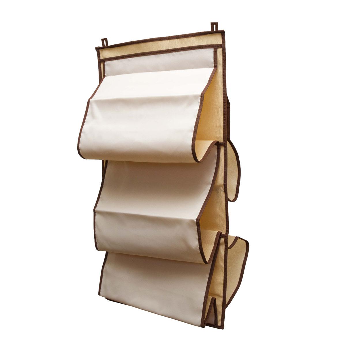 Органайзер для сумок Homsu Bora-Bora, 5 отделений, 40 х 70 смU210DFОрганайзер для хранения сумок Homsu Bora-Bora изготовлен из полиэстера. Изделие имеет 5 отделений, его можно повесить в удобное место за крючки. Такой компактный и удобный в каждодневном использовании аксессуар, как этот органайзер, размещающийся в пространстве шкафа, на плоскости стены или дверей.Практичный и удобный органайзер для хранения сумок.Размер чехла: 40 х 70 см.