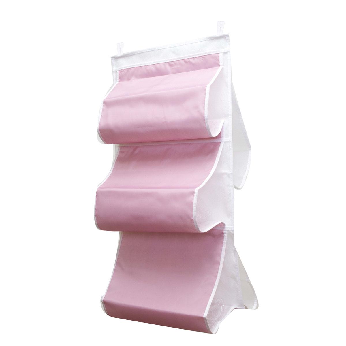 Органайзер для сумок Homsu Capri, 5 отделений, 40 х 70 см12723Органайзер для хранения сумок Homsu Capri изготовлен из полиэстера. Изделие имеет 5 отделений, его можно повесить в удобное место за крючки. Такой компактный и удобный в каждодневном использовании аксессуар, как этот органайзер, размещающийся в пространстве шкафа, на плоскости стены или дверей.Практичный и удобный органайзер для хранения сумок.Размер чехла: 40 х 70 см.