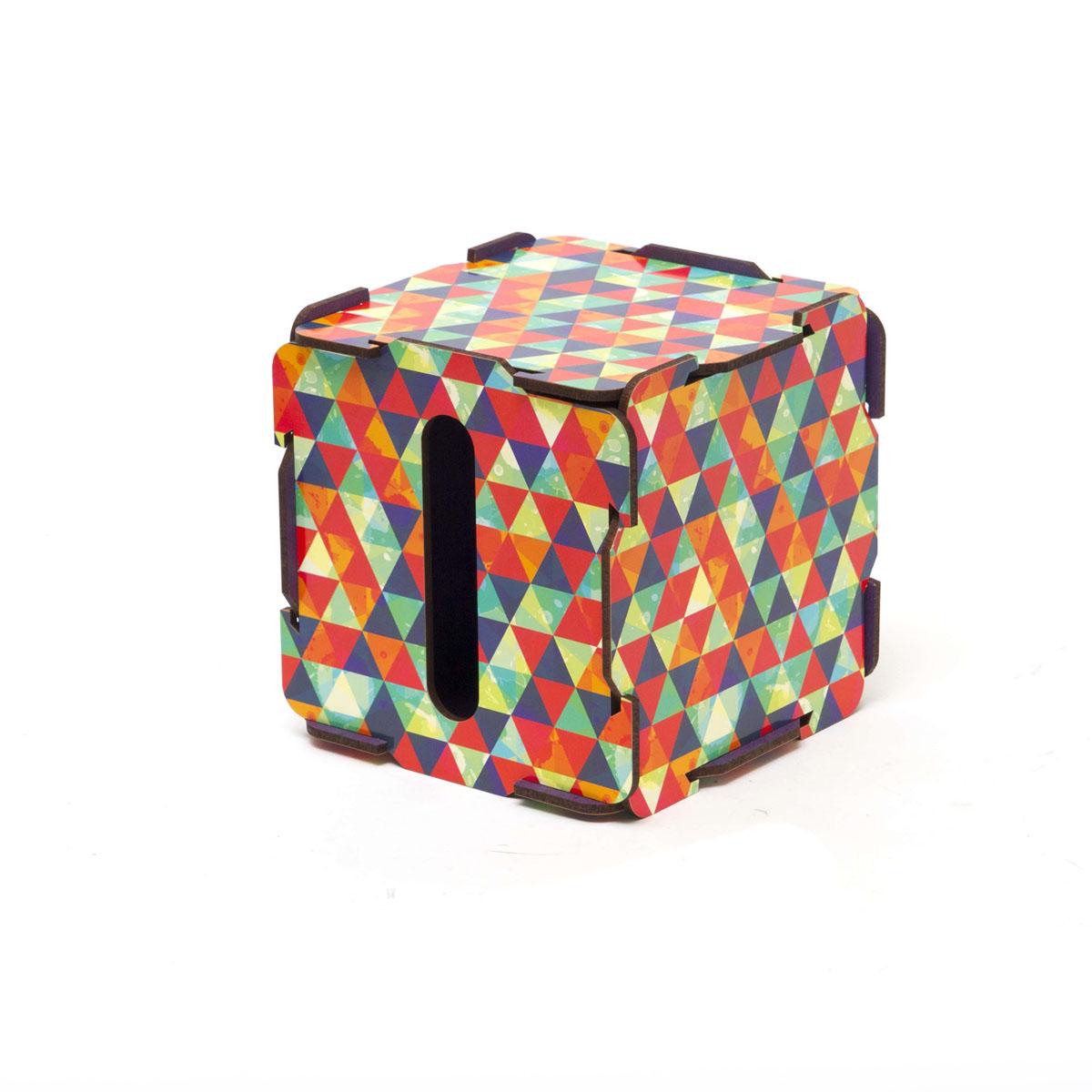 Органайзер настольный Homsu Треугольник, 13,5 x 13,5 x 13,5 см74-0060Органайзер настольный Homsu Треугольник выполнен из МДФ. Настольный органайзер в прямоугольной форме - это способ хранения салфеток, но и других принадлежностей. Яркий дизайн поднимает настроение и радует своими необычными оттенками.