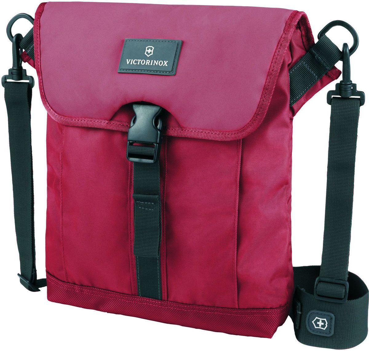 Сумка наплечная Victorinox Altmont 3.0 Flapover Bag, цвет: красный. 32389203ГризлиСумка наплечная Victorinox Altmont 3.0 Flapover Bag выполнена из высококачественного нейлона и оформлена фирменной нашивкой. Изделие оснащено мягким карманом для электронного устройства диагональю 10 (25 см) для хранения iPad, Kindle, планшета или электронной книги.Внешняя сторона включает в себя передний карман с застёжкой-клапаном.Лицевые, боковые и задние скрытые карманы на молнии обеспечивают дополнительную безопасность и места для хранения.Регулируемый съемный плечевой ремень для удобства переноски.