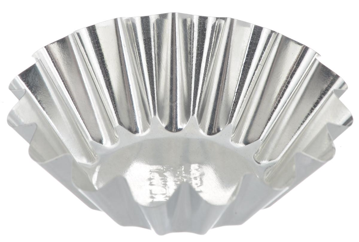 Набор форм для выпечки кекса Кварц Средняя, диаметр 9,5 см форма для выпечки кварц диаметр 13 5 см