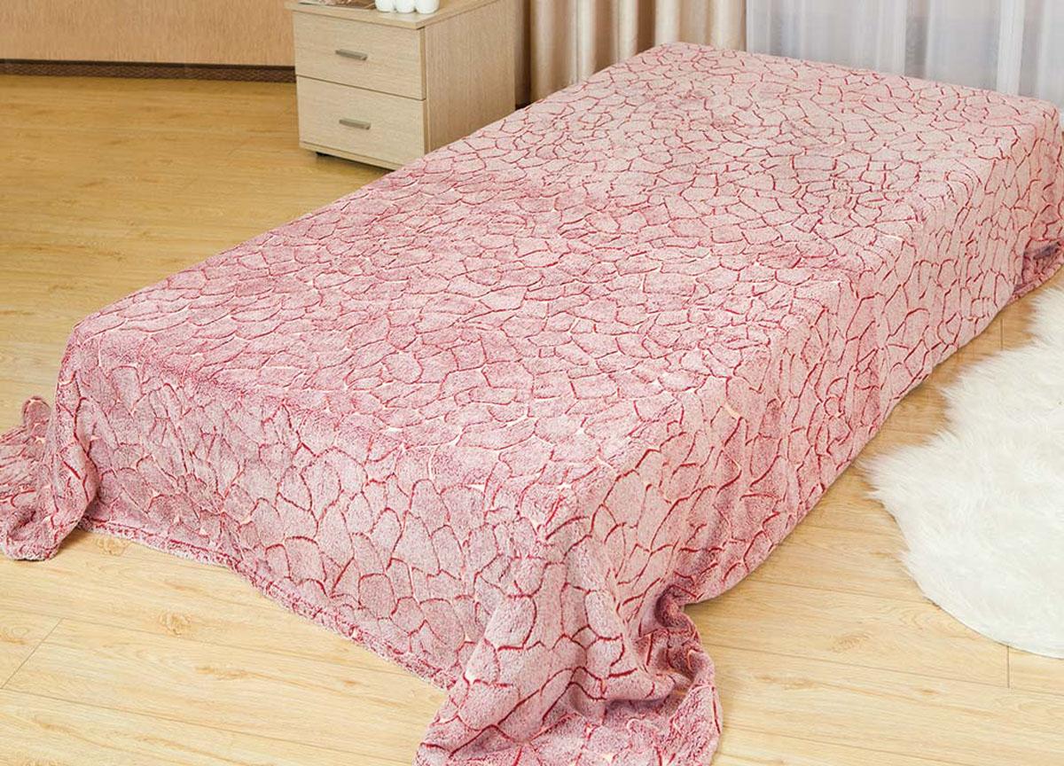 Плед Absolute, цвет: розовый , 150 х 200 см. 6220062200Плед Absolute - это идеальное решение для вашего интерьера! Он порадует вас легкостью, нежностью и оригинальным дизайном! Плед выполнен из 100% полиэстера и оформлен ярким рисунком. Полиэстер считается одной из самых популярных тканей. Это материал синтетического происхождения из полиэфирных волокон. Внешне такая ткань схожа с шерстью, а по свойствам близка к хлопку. Изделия из полиэстера не мнутся и легко стираются. После стирки очень быстро высыхают.Плед - это такой подарок, который будет всегда актуален, особенно для ваших родных и близких, ведь вы дарите им частичку своего тепла!Плотность: 300 г/м2.