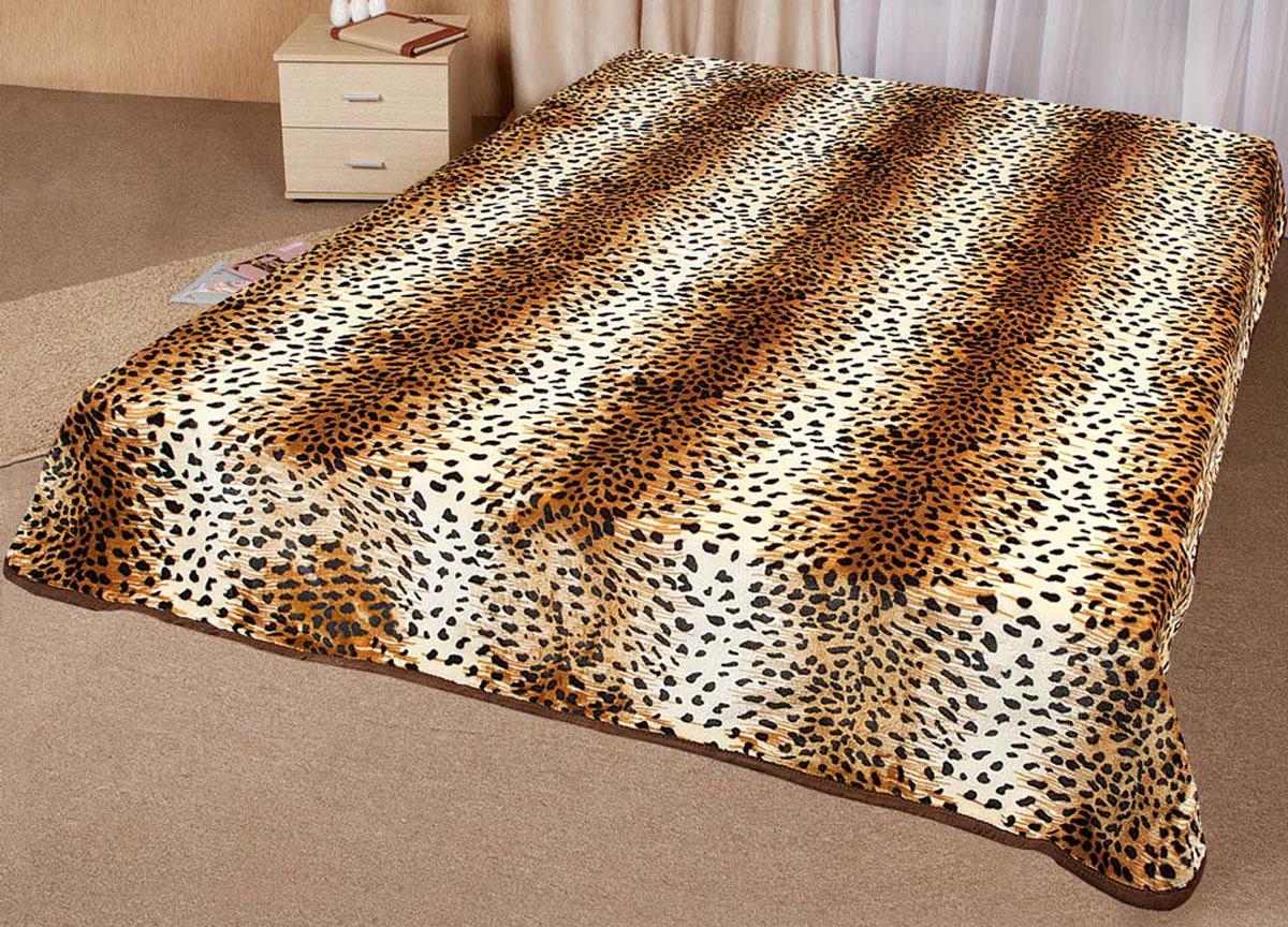 Плед Tamerlan, нестриженый, цвет: коричневый, 200 х 240 см. 64337ES-412плотность 500 гр/м2