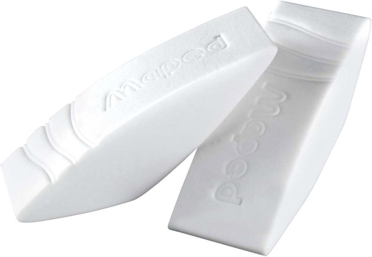 Maped Набор ластиков Greenlogic 2 шт116610Набор Maped Greenlogic состоит из двух одинаковых ластиков белого цвета. Такие ластики станут незаменимым аксессуаром на рабочем столе не только школьника или студента, но и офисного работника. Заострены для точности и комфорта. Характеристики:Размер одного ластика: 6,5 см х 2 см х 1,5 см. Изготовитель: Китай.