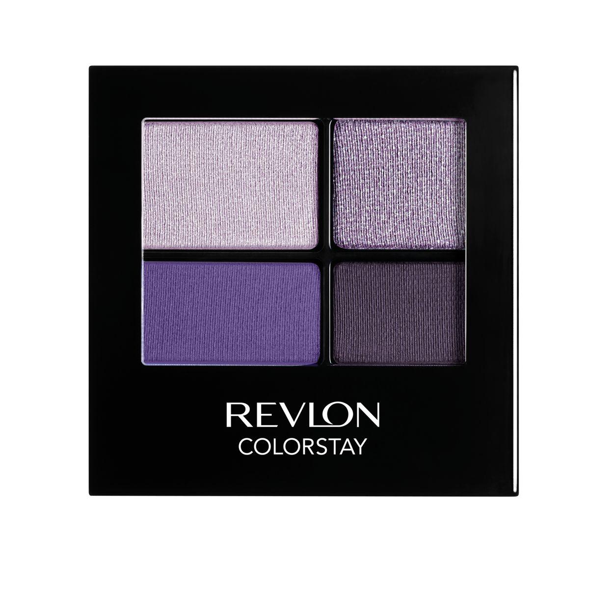 Revlon Тени для Век Четырехцветные Colorstay Eye16 Hour Eye Shadow Quad Seductive 530 42 гMFM-3101Colorstay 16 Hour Sahdow - роскошные тени для век с шелковистой текстурой и невероятно стойкой формулой. Теперь ваш макияж сохранит свой безупречный вид не менее 16 часов! Все оттенки гармонично сочетаются друг с другом и легко смешиваются, позволяя создать бесконечное количество вариантов макияжа глаз: от нежных, естественных, едва заметных, до ярких, выразительных, драматических. На оборотной стороне продукта приведена схема нанесения.Аккуратно нанести на веки специальной кисточкой.