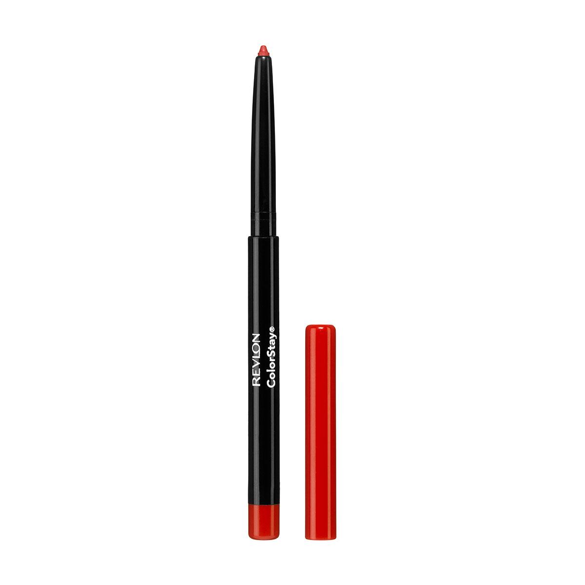 Revlon Карандаш для Губ Colorstay Lip Liner Red 20 5 г5010777142037Контурный карандаш для губ ColorStay™ создан на основе уникальной технологии SoftFlex™, которая предупреждает растекание или смазывание губной помады. Карандаш обладает мягкой текстурой и позволяет быстро прорисовать желаемый контур. В корпусе карандаша встроена точилка.Наносить на контур губ или растушевывать по всей поверхности губ