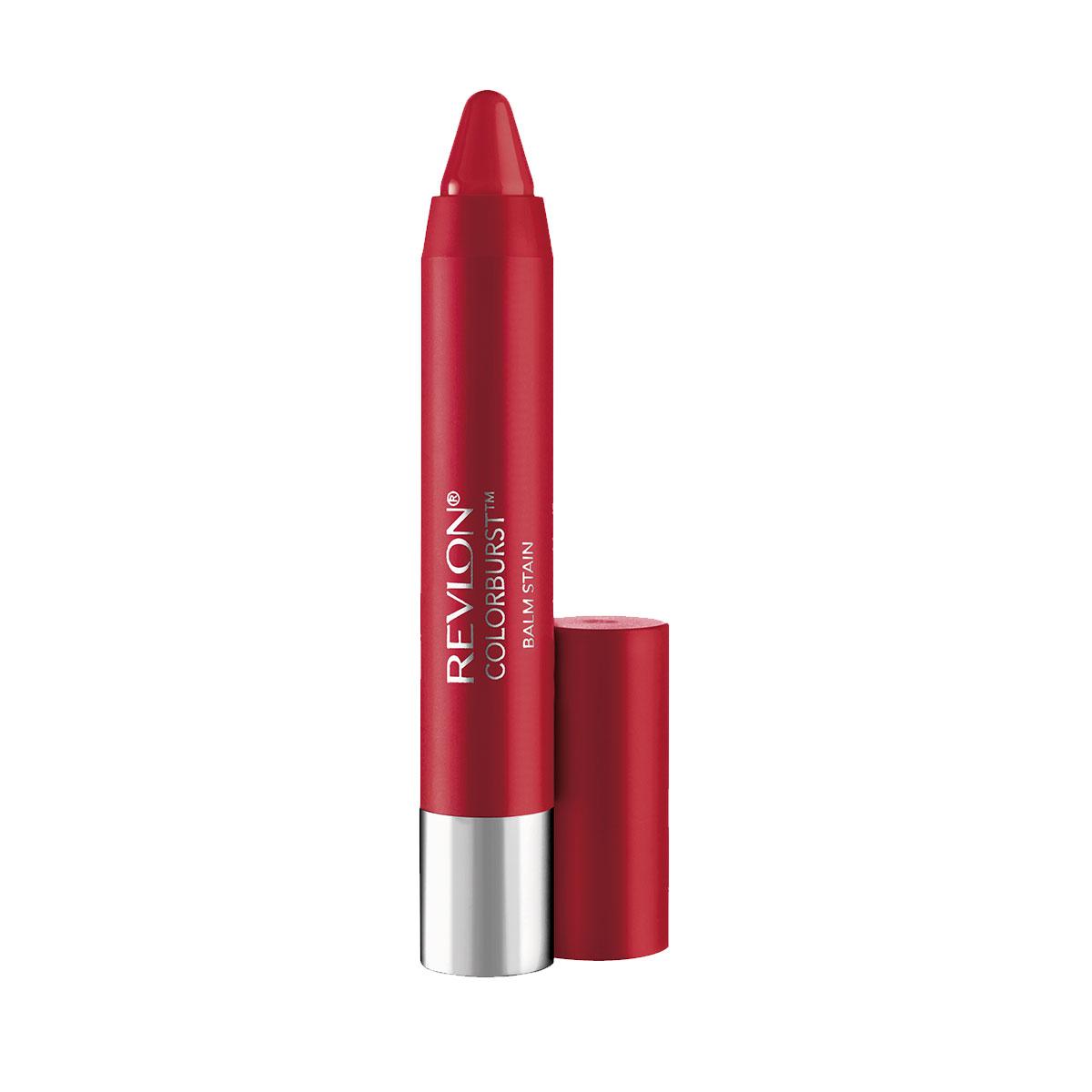 Revlon Бальзам для Губ Colorburst Balm Stain Romantic 045 17 г28032022Colorburst Balm Stain - бальзам для губ в форме карандаша. Атласный эффект. В формуле продукта присутствует перечная мята, которая дает легкий дренажный эффект.Аккуратно нанести на губы