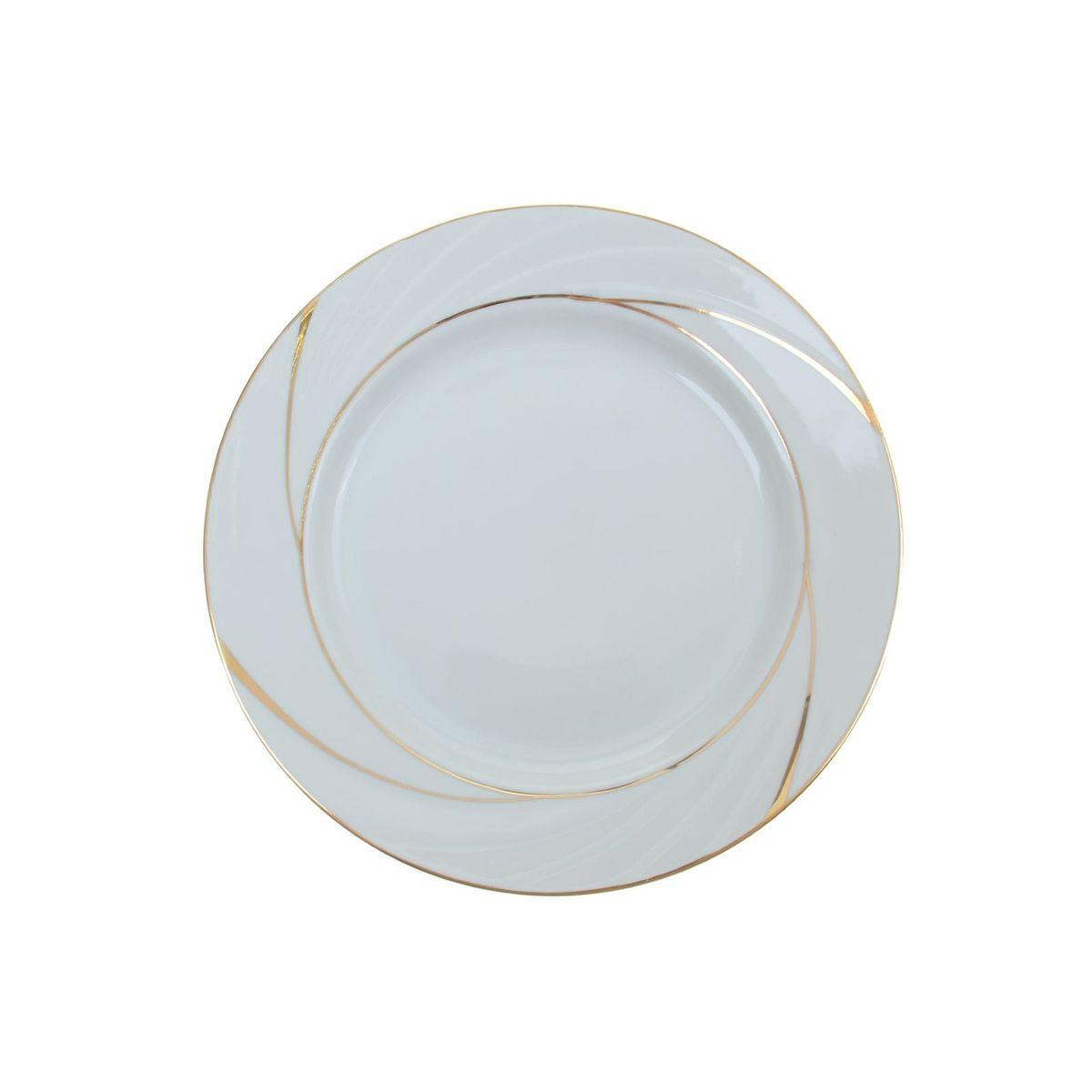 Тарелка мелкая Голубка. Бомонд, диаметр 24 см1035420Мелкая тарелка Голубка. Бомонд выполнена из высококачественного фарфора. Она прекрасно впишется в интерьер вашей кухни и станет достойным дополнением к кухонному инвентарю. Тарелка Голубка. Бомонд подчеркнет прекрасный вкус хозяйки и станет отличным подарком. Диаметр тарелки: 24 см.