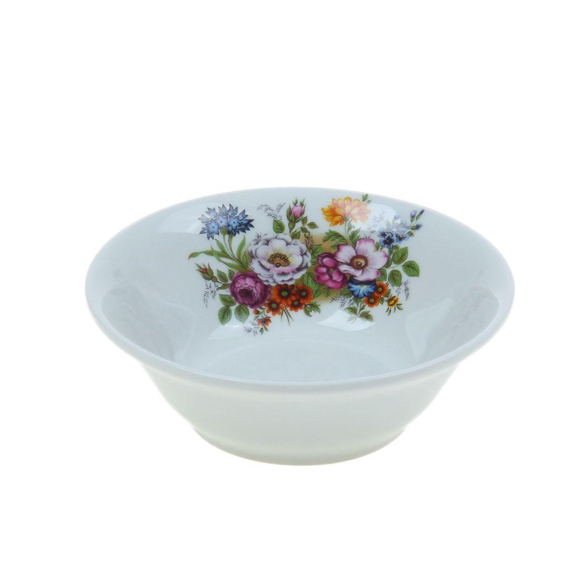 Салатник Идиллия. Букет цветов, 360 мл4С0322