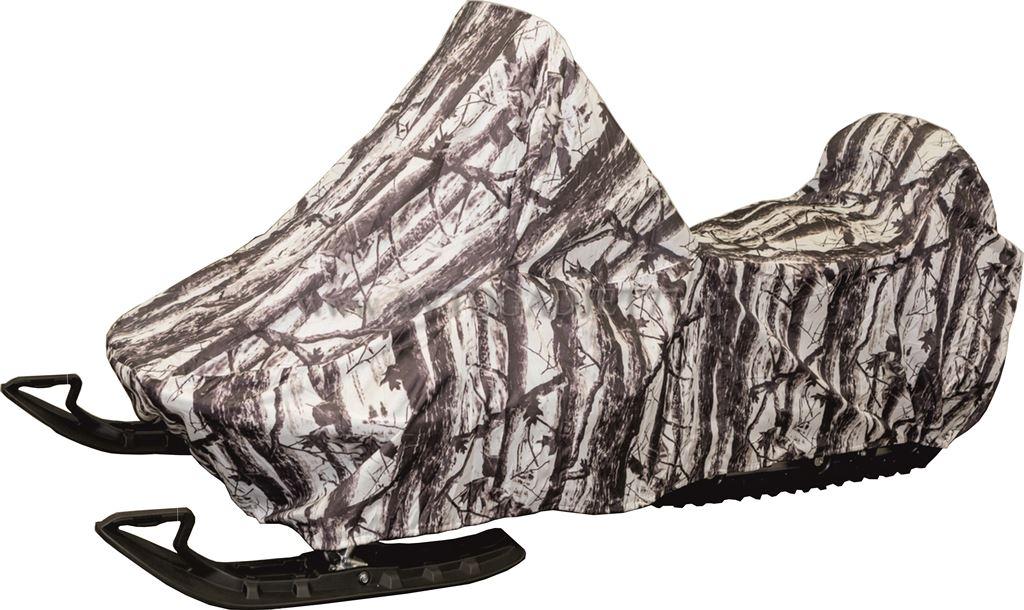 Чехол AG-brand для снегохода Ski-Doo SKANDIC SWT 600, рисунок: зимний лесALLIGATOR SP-55RSЧехол для хранения снегохода. Утягивающая резинка по нижней кромке чехла. Влагоотталкивающая ткань плотностью 240d