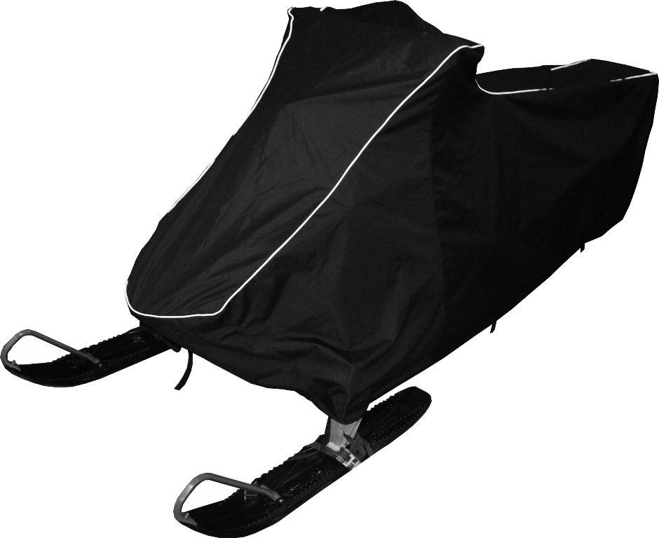 Чехол транспортировочный AG-brand для снегохода Polaris RMK 800 (155), цвет: черныйKGB GX-5RSЧехол для транспортировки Снегохода Polaris RMK 800 (155) . Чехол выполнен из прочной влагоотталкивающей ткани плотностью 600 Den, с применением армированных ниток. По нижней кромке чехла вшита плотная резинка, обеспечивающая надежную фиксацию на снегоходе.В комплект транспортировочного чехла входит прочная текстильная стропа для крепления техники в прицепе или специальном боксе для перевозки. Светоотражающий кант делает технику заметной в темное время суток.