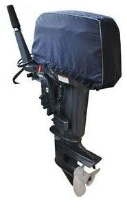 Чехол AG-brand для 2-тактного лодочного мотора Yamaha, 25-30 л.с., цвет: синий. AG-YAM-OM-2T/30hp-cupK100Прочный колпак AG-brand подходит на моторы фирмы Yamaha, 2-тактный, 25-30 л.с. и ее аналоги. Колпак предназначен для транспортировки мотора на лодке. Позволяет защитить мотор от погодных явлений, грязи и пыли. Чехол двухслойный, внешний слой ткань с водоотталкивающий пропиткой, внутренний слой мягкий натканный материал. Крепится при помощи стропы с фиксатором. Чехол имеет светоотражающий кант,что делает технику более заметной в темное время суток.